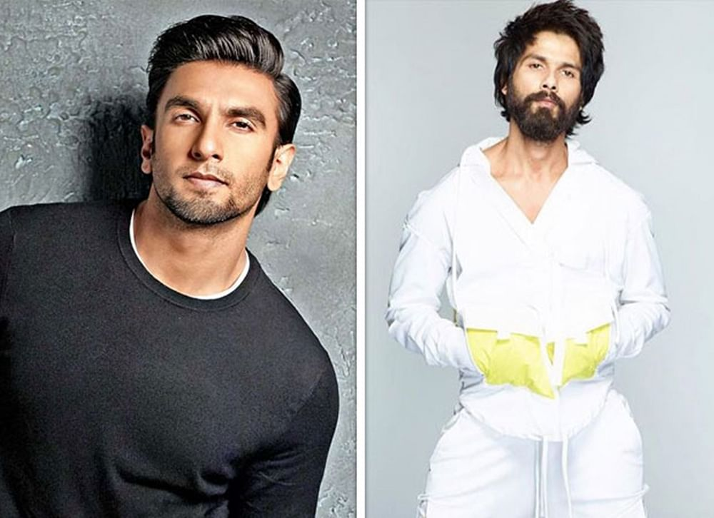 Ranveer Singh rubbishes rumours of cold war with 'Padmaavat' co-star Shahid Kapoor