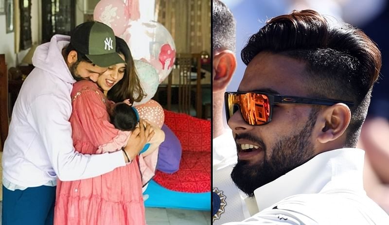 Hey Baby(sitter)! After Paine, Rohit Sharma wants Rishabh Pant to babysit newborn daughter, Twitterati give thumbs up