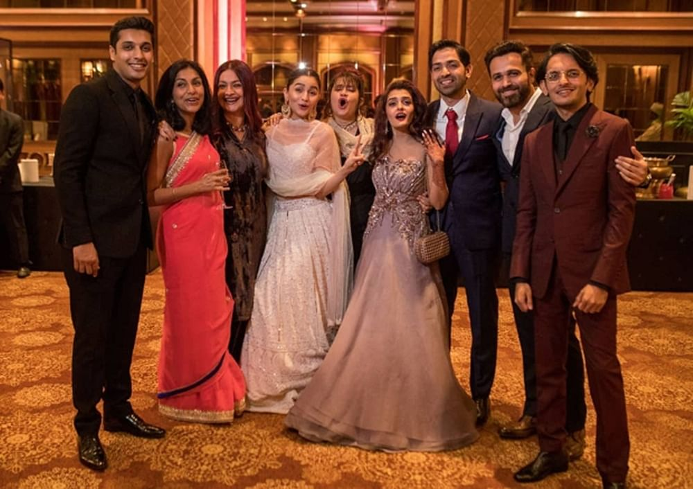 Unseen pic of Alia Bhatt, Emraan Hashmi from cousin Sakshi Bhatt's wedding reception is too cute to miss