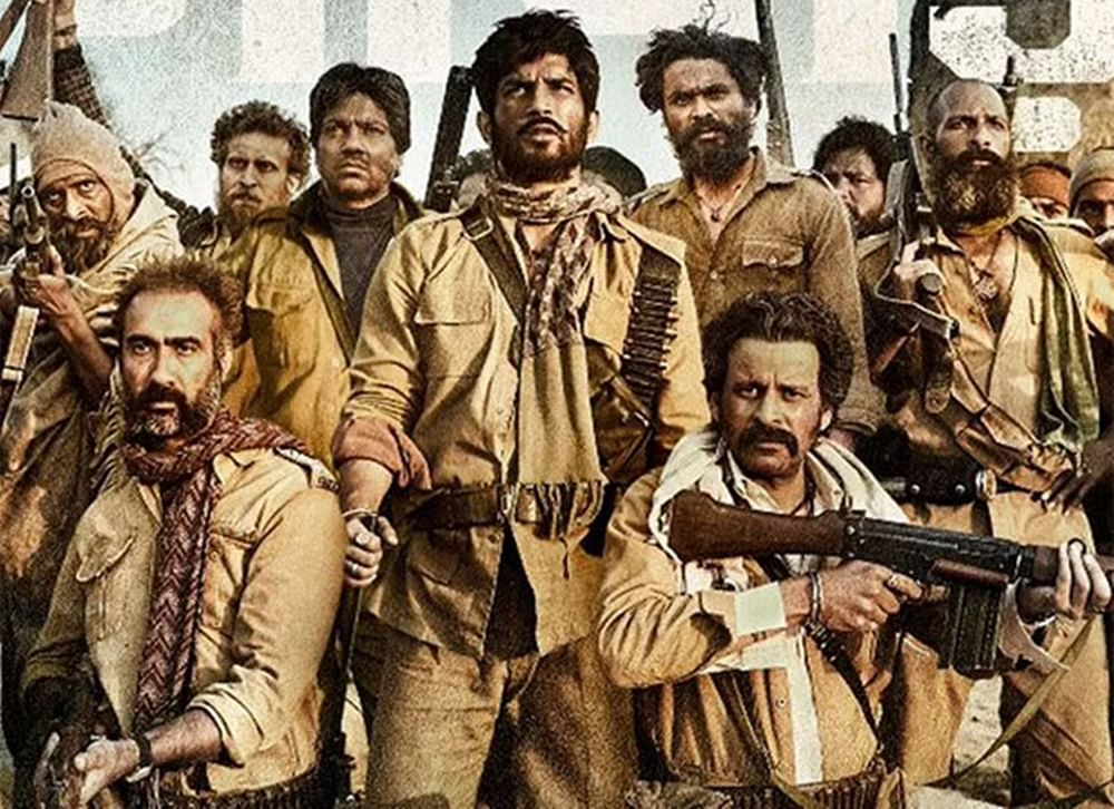 Say What! Team 'Son Chiriya' shot fire with real rifles and guns