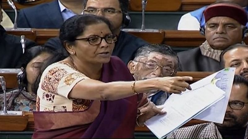 Congress shedding crocodile tears for HAL, says Nirmala Sitharaman on Rafale row