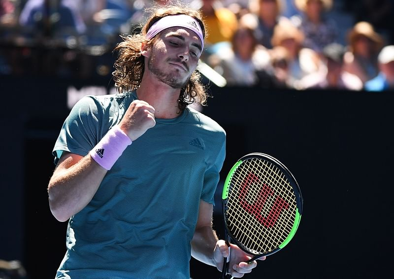 Stefanos Tsitsipas stuns Nadal to set up final with Djokovic
