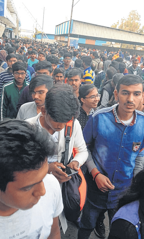 Indore: NCERT questions surprise students