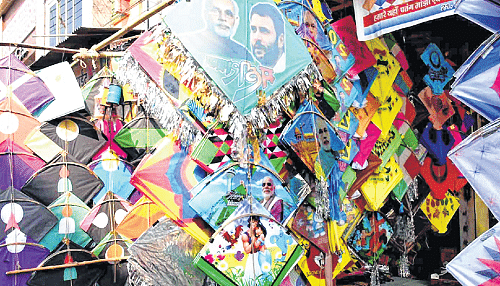Ujjain: City boys gear up for  kiting on Makar Sankranti