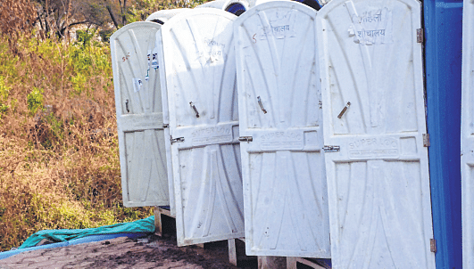 Bhopal: BMC fails to keep modular toilets intact, removes many quietly