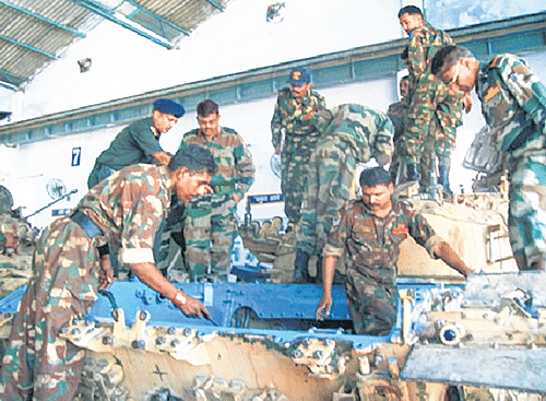 Government privatising Army workshops