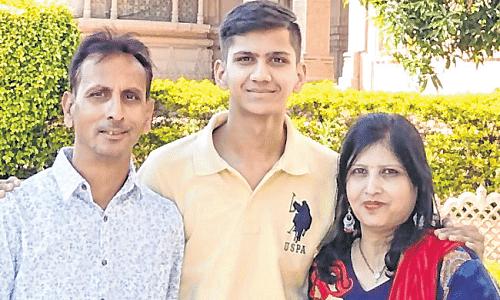 Indore: Garvit Jain is all India topper in CA exam