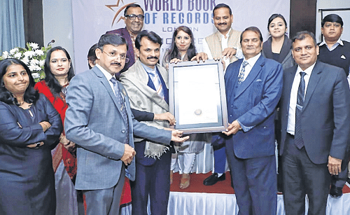 Indore: State prosecution department makes 2 world records, feted