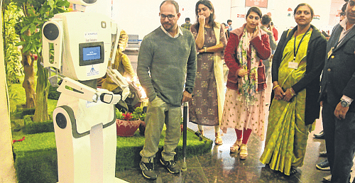 Indore: Robot service begins at airport