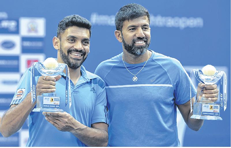Bopanna serves big in title win with Sharan