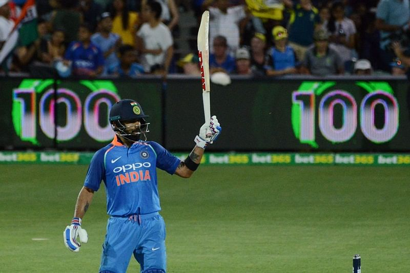 Ever heard of batting hat-trick? Virat Kohli just achieved it at Adelaide; here's how