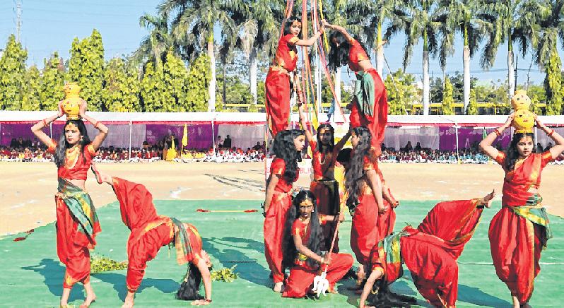 Bhopal: Sagar Public School celebrates Annual Sports Day