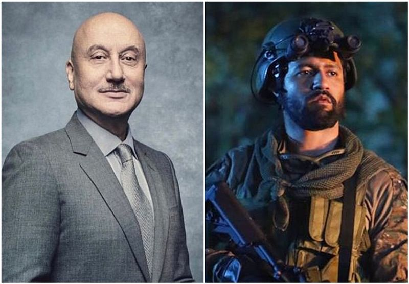 Anupam Kher welcomes Vicky Kaushal in 'actors' world'