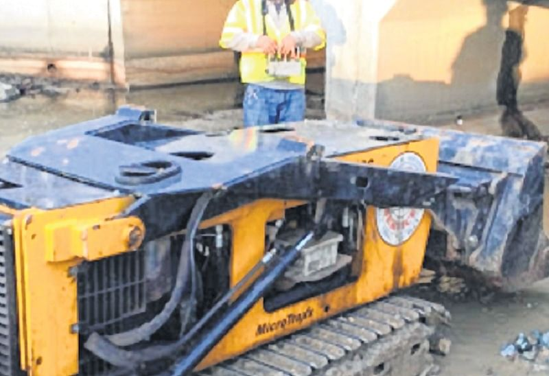 BMC's robot to clean up city nullahs
