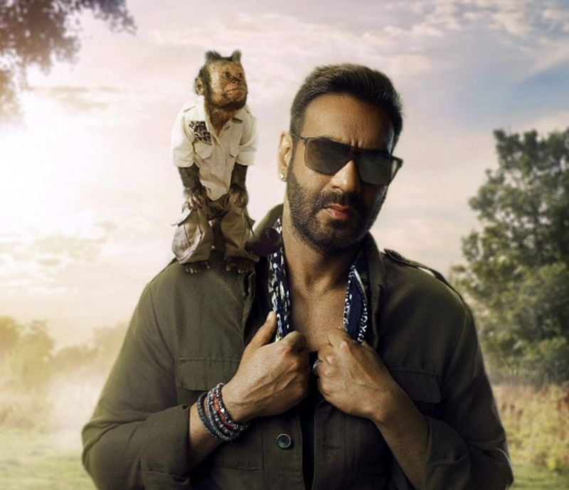 Total Dhamaal first look: Ajay Devgn reveals Hollywood's famous monkey Crystal to make Bollywood debut in the film