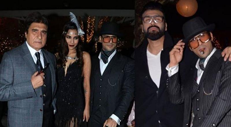Bollywood attends Prateik Babbar and Sanya Sagar's vintage wedding reception; see pics and videos