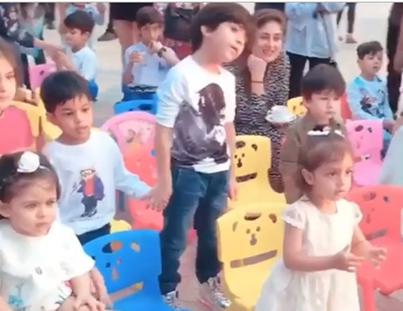 Watch! Taimur dancing at a birthday party has set the internet's podium on fire