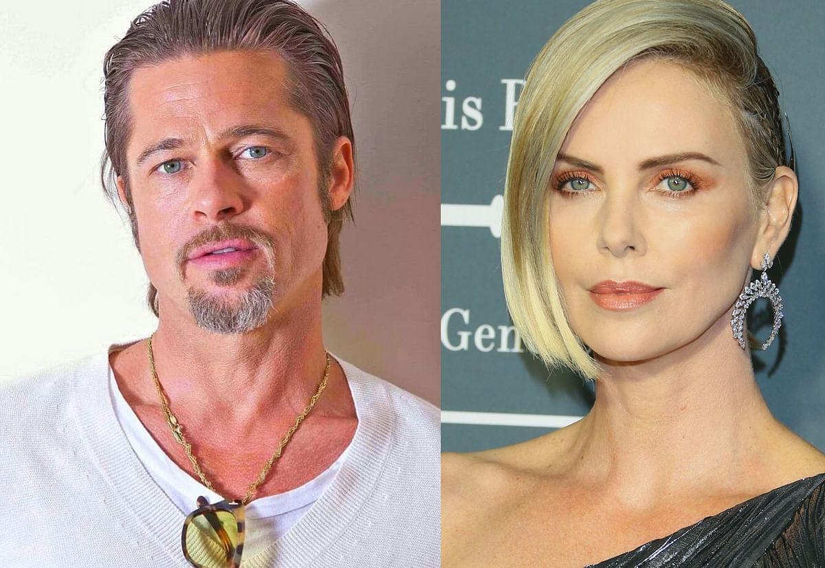 Everybody calm down! Brad Pitt not dating Charlize Theron