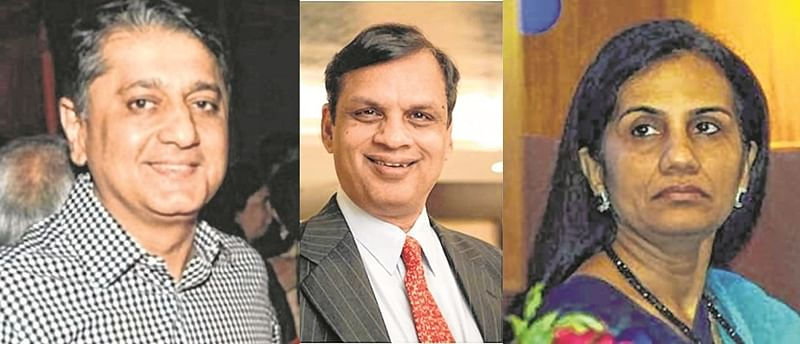 Chanda Kochhar, hubby booked