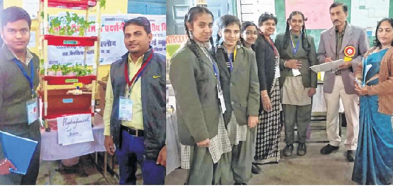 Bhopal: MGPS, NHLPS students shine at Inspire Award
