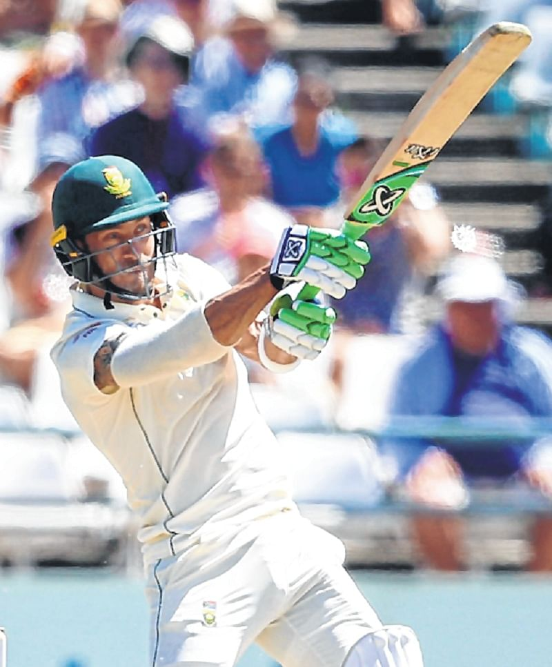 Faf Du Plessis, Temba Bavuma stretch Proteas' lead