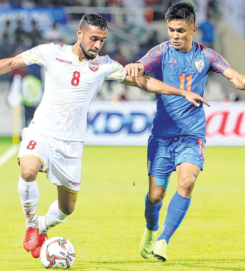 India suffer heartbreaking loss to Bahrain through last-minute penalty; Eliminated from Asian Cup