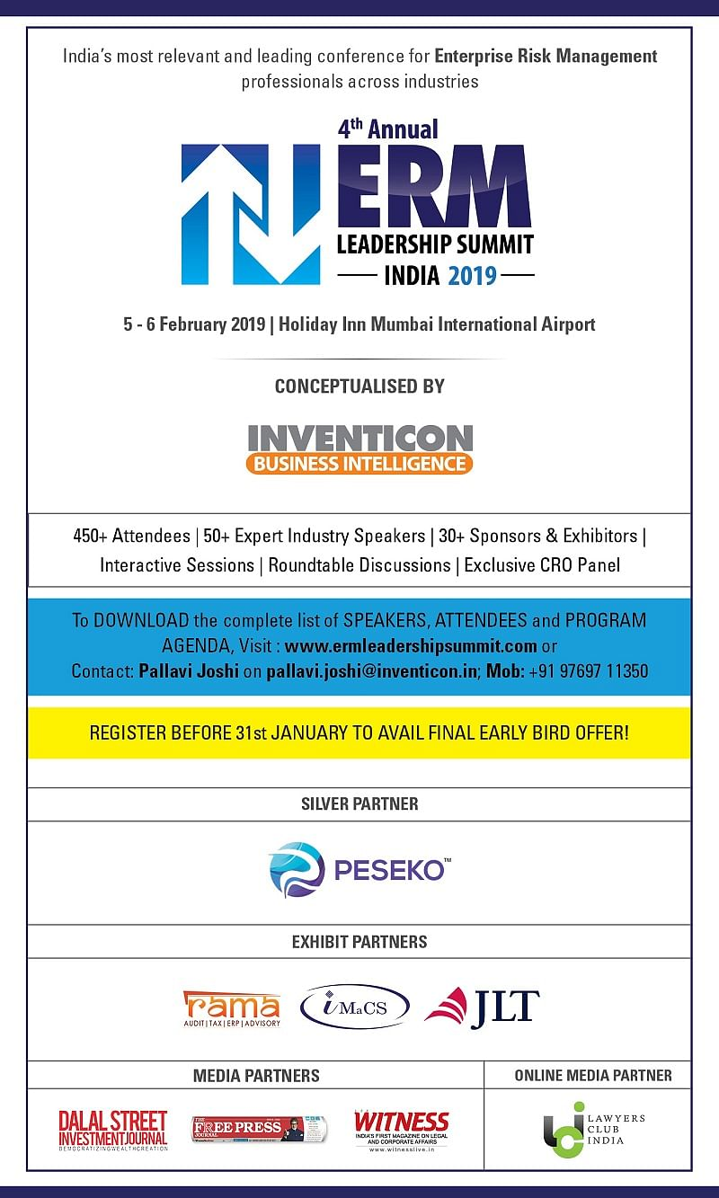 4th Annual ERM Leadership Summit 2019