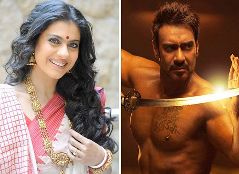 Taanaji The Unsung Warrior: Kajol and Ajay Devgn shoot for a song in the film