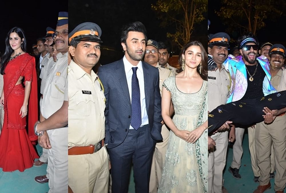 Umang 2019: Katrina Kaif, Ranveer Singh and other Bollywood celebs come together for Mumbai Police