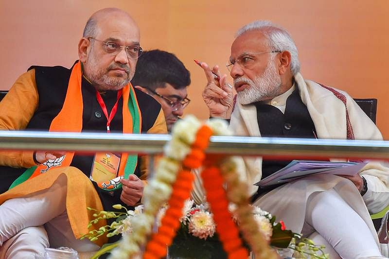 PM Modi meets Amit Shah ahead of government formation