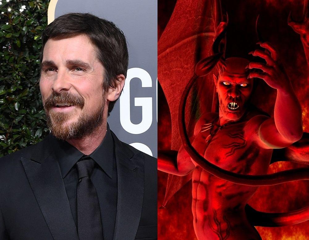 Christian Bale thanking Satan for his Golden Globe rings in a meme fest on social media