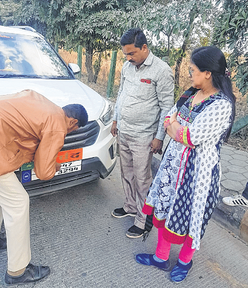 Indore: Range Rover driver couldn't pay Rs 500, sent home to get money