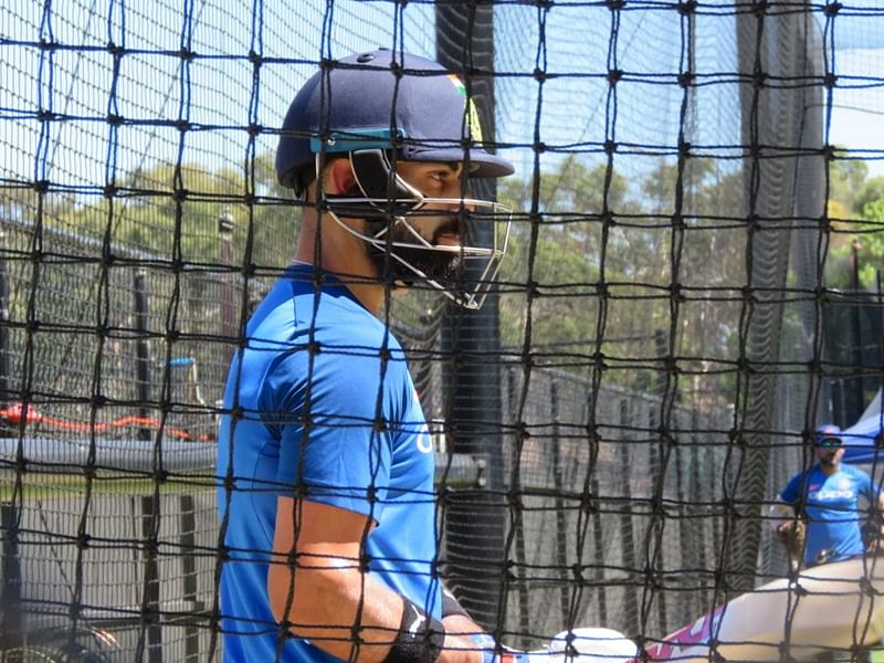 India vs Australia: With victory in mind, Virat Kohli and MS Dhoni slog it out in the nets; watch video