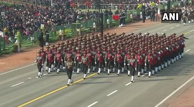 Women prowess mesmerises crowd at Republic Day parade on Rajpath