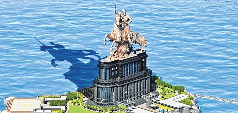 Shivaji memorial: PWD using Supreme Court order to stall work, saysVinayak Mete