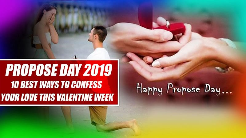 Propose Day 2019: 10 Best Ways To Confess Your Love This Valentine Week