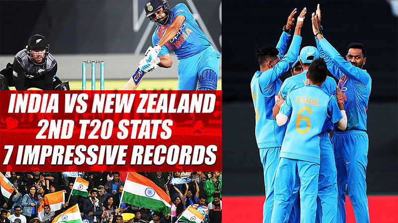 India vs New Zealand 2nd T20 stats: 7 impressive records to know about