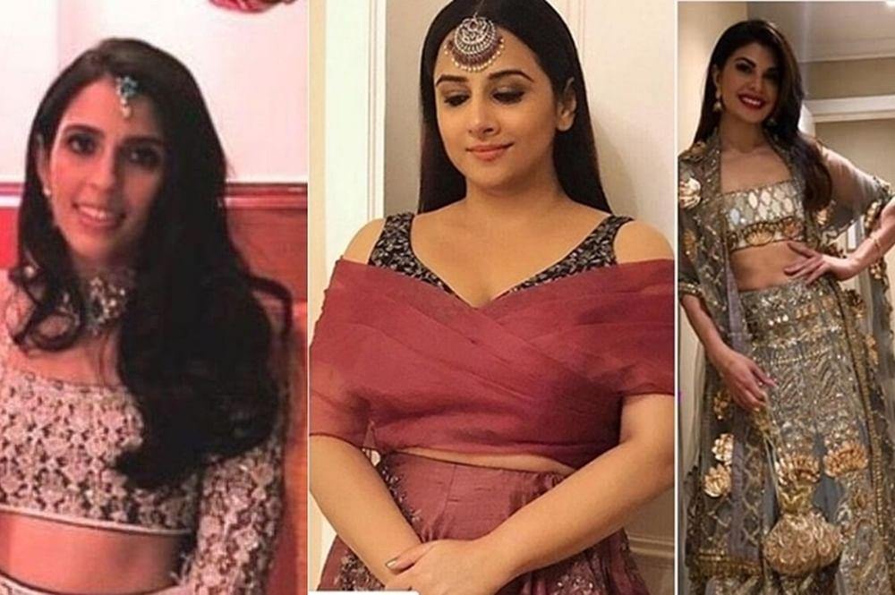 Akash Ambani-Shloka Mehta's pre-wedding bash: Jacqueline Fernandez, Vidya Balan all decked up to attend sangeet ceremony
