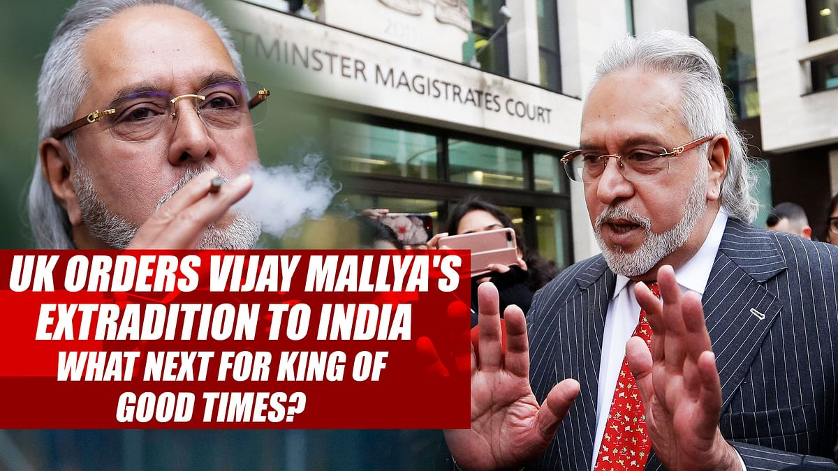 UK Orders Vijay Mallya's Extradition To India | What Next For King Of Good Times?
