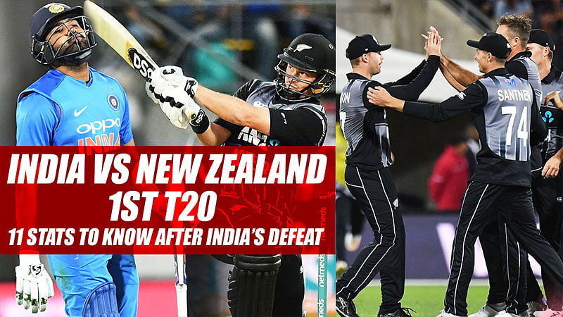 India vs New Zealand 1st T20 Highlights | Kiwis Bag Victory By 80 Runs