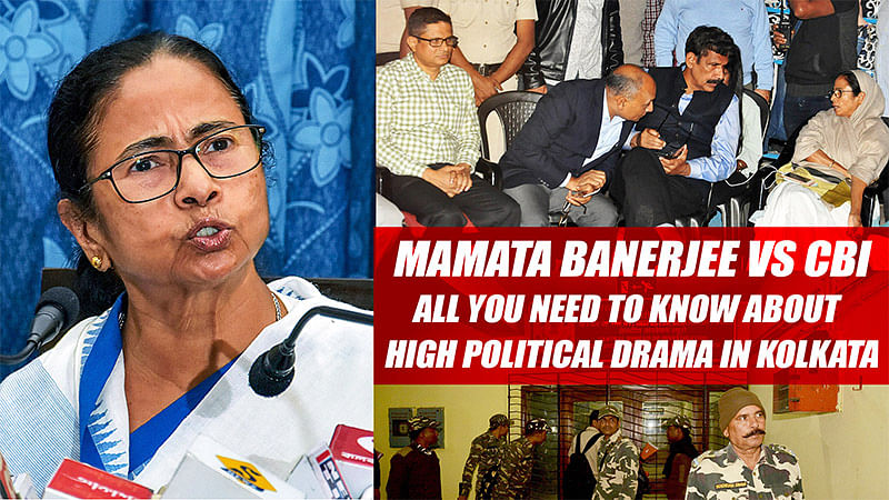 Mamata Banerjee vs CBI: All you need to know about high political drama in Kolkata