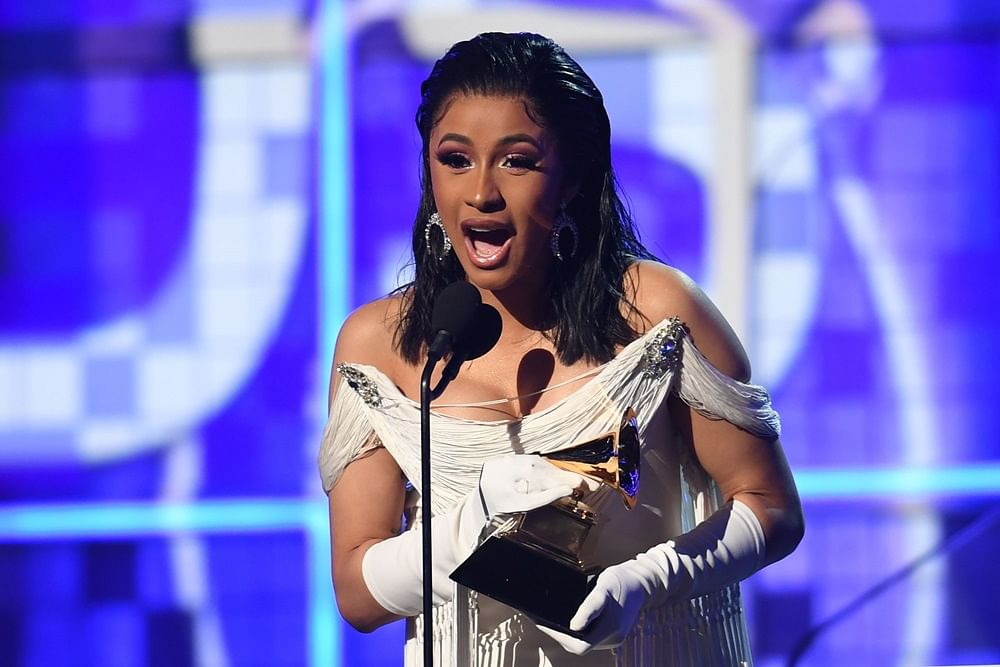 Grammy Awards 2019: Cardi B becomes first solo woman to win best rap album