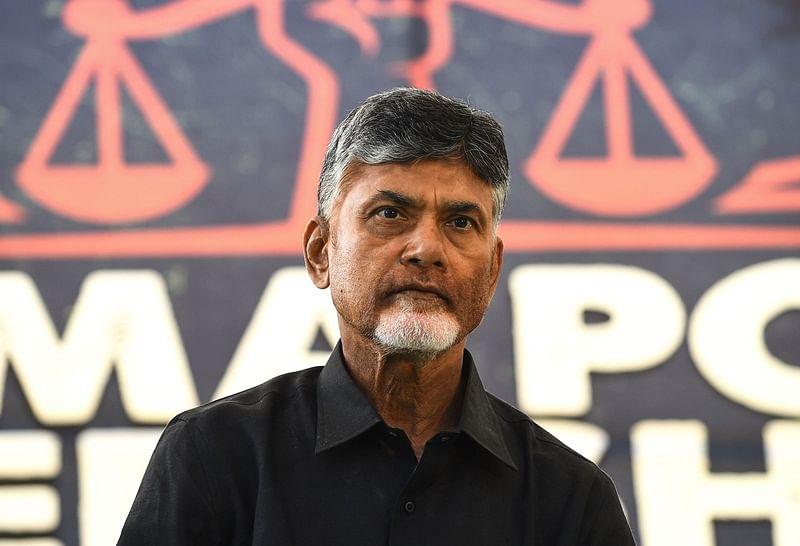 Andhra Pradesh CM N Chandrababu Naidu breaks his daylong fast