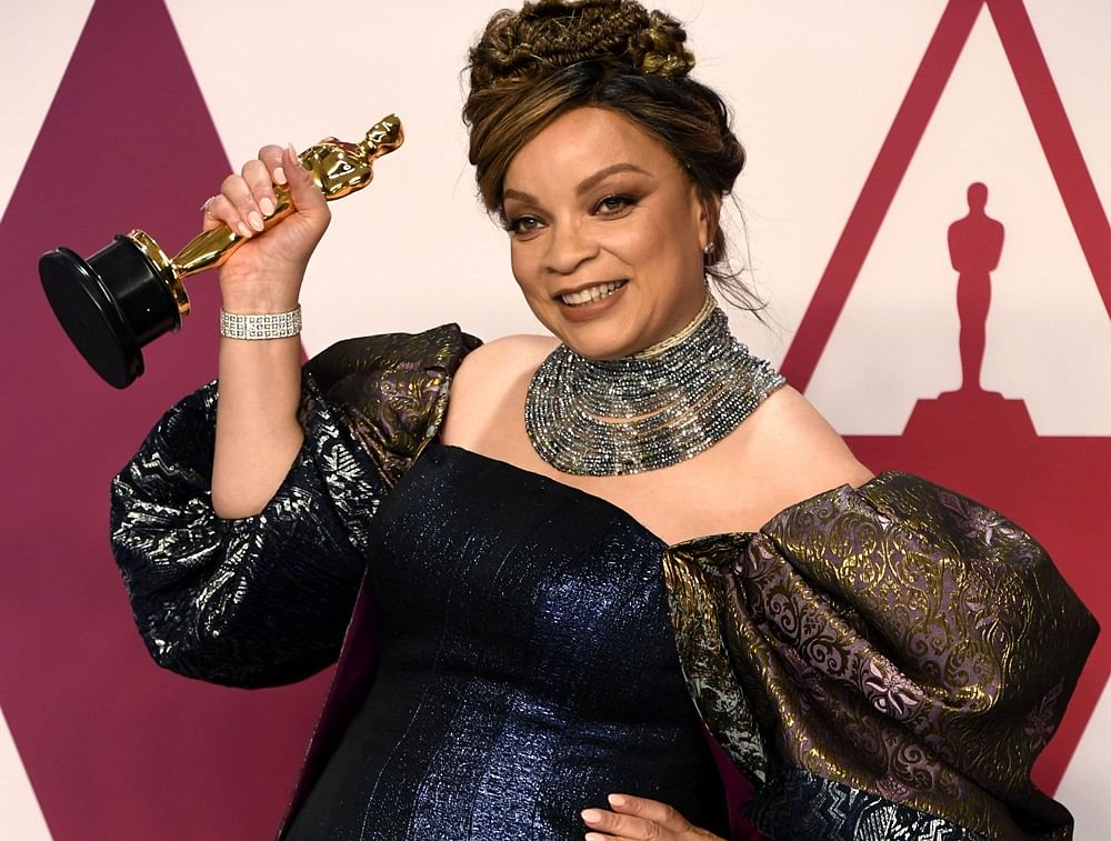Ruth Carter of 'Black Panther' is the first African American to win an Oscar for costume design