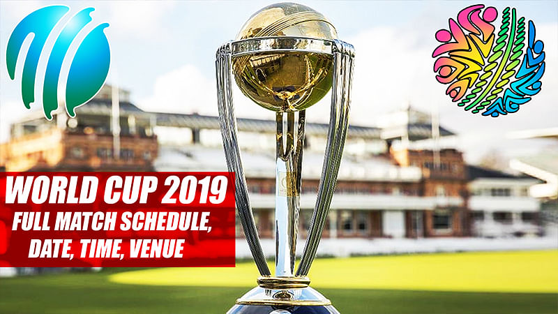 ICC World Cup 2019: Full Match Schedule, Date, Time, Venue