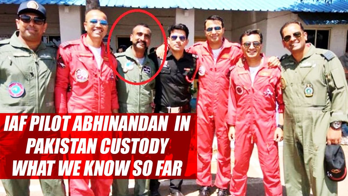 IAF Pilot Abhinandan In Pakistan Qustody: What We Know So Far