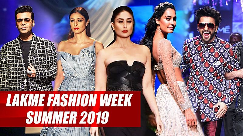 Ranveer Singh, Kareena Kapoor: All Showstoppers From Lakme Fashion Week Summer/Resort 2019
