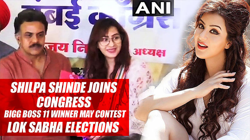 Shilpa Shinde Joins Congress, Bigg Boss 11 Winner May Contest Lok Sabha elections