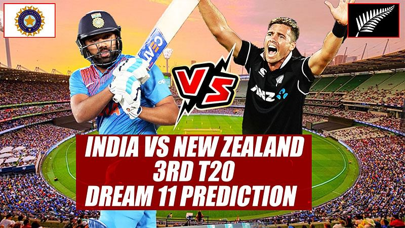 India vs New Zealand 3rd T20 Probable Playing 11, Dream 11 Prediction