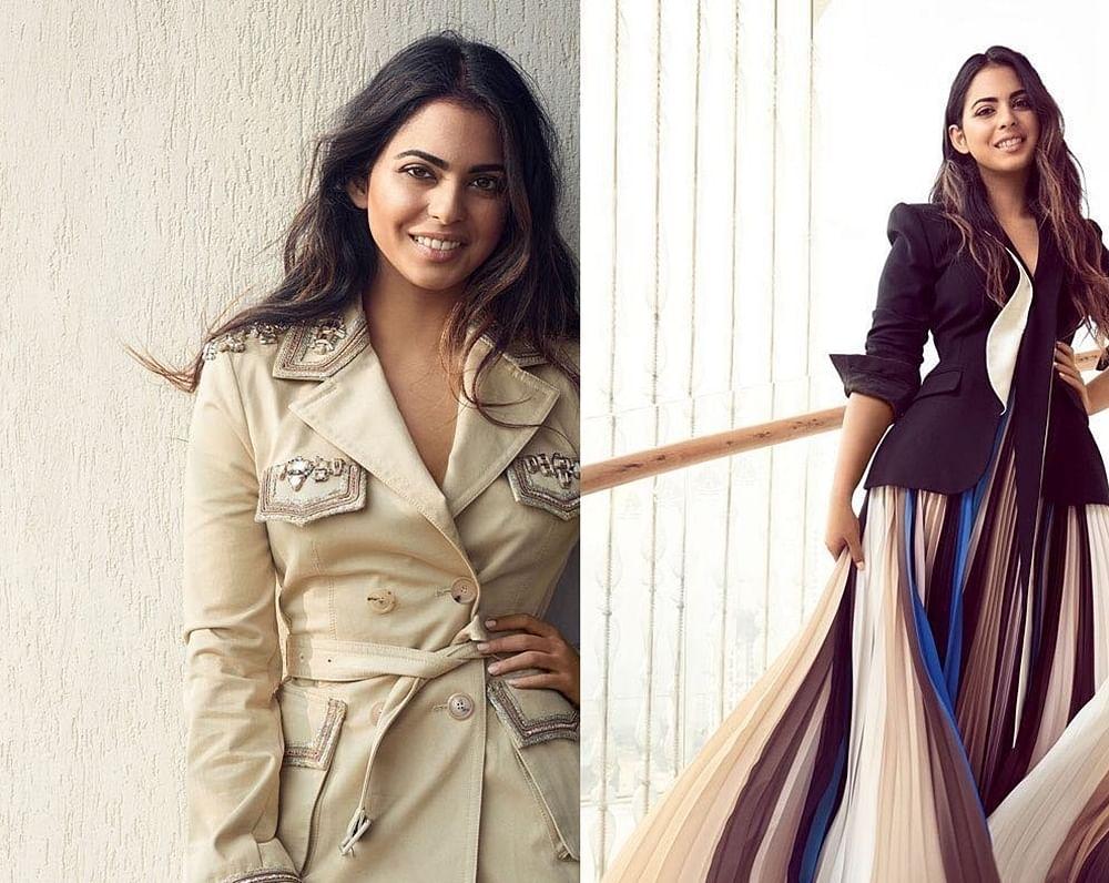 Unseen pics of Isha Ambani Piramal from magazine photoshoot scream elegance